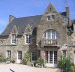 Façade de la maison d'hôtes du Vieux Logis à Saint-Briac sur Mer
