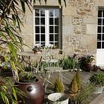 Terrasse de la Maison d'Hôtes