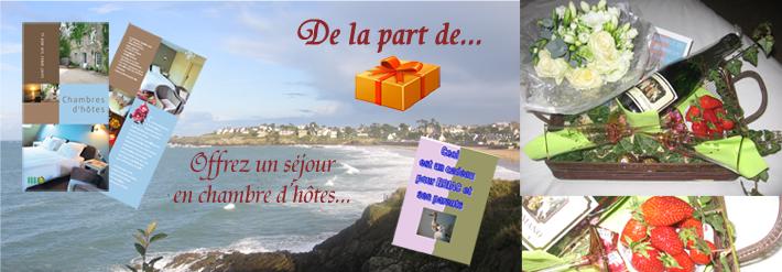 offrir un séjour en chambres d'hôtes à Saint-Briac sur Mer