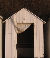 cabine de plage à Saint-Briac-sur-Mer