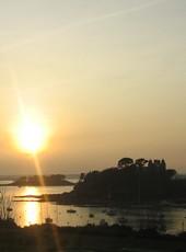 Coucher de Soleil sur la Plage de Saint-Briac-sur-Mer
