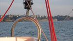 Sortie en bateau à voile sur les côtes bretonnes